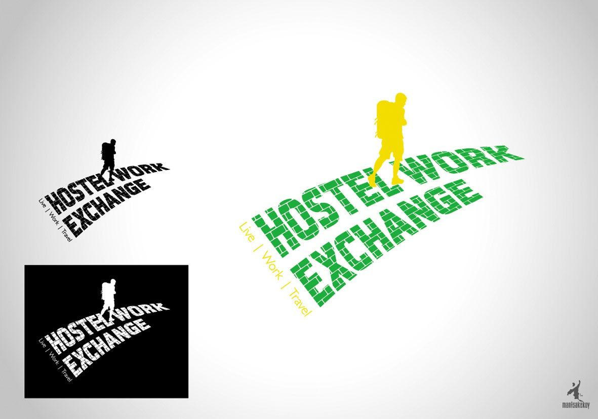 Create the next logo for Hostel Work Exchange