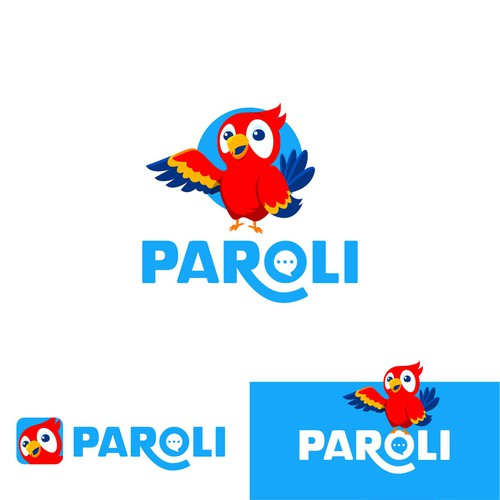 Playful logo for Paroli