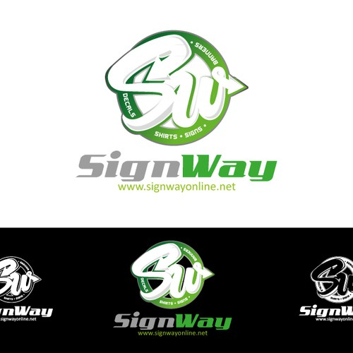 logo concept for SignWay