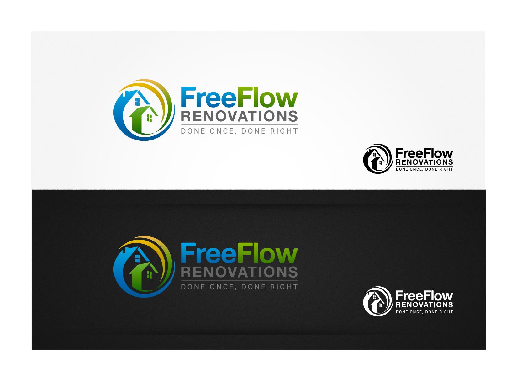 Free Flow Renovations needs a new logo