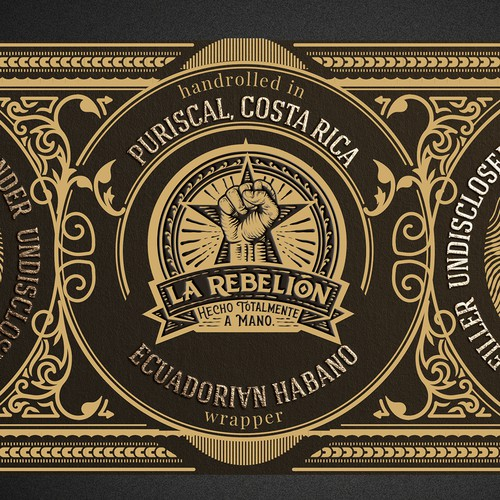Label for Cigar Brand