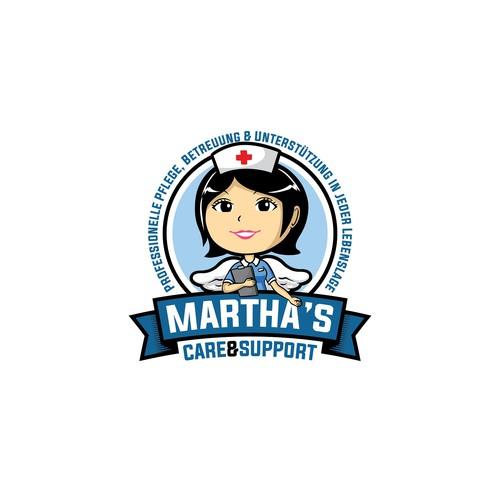 Martha's care & support logo