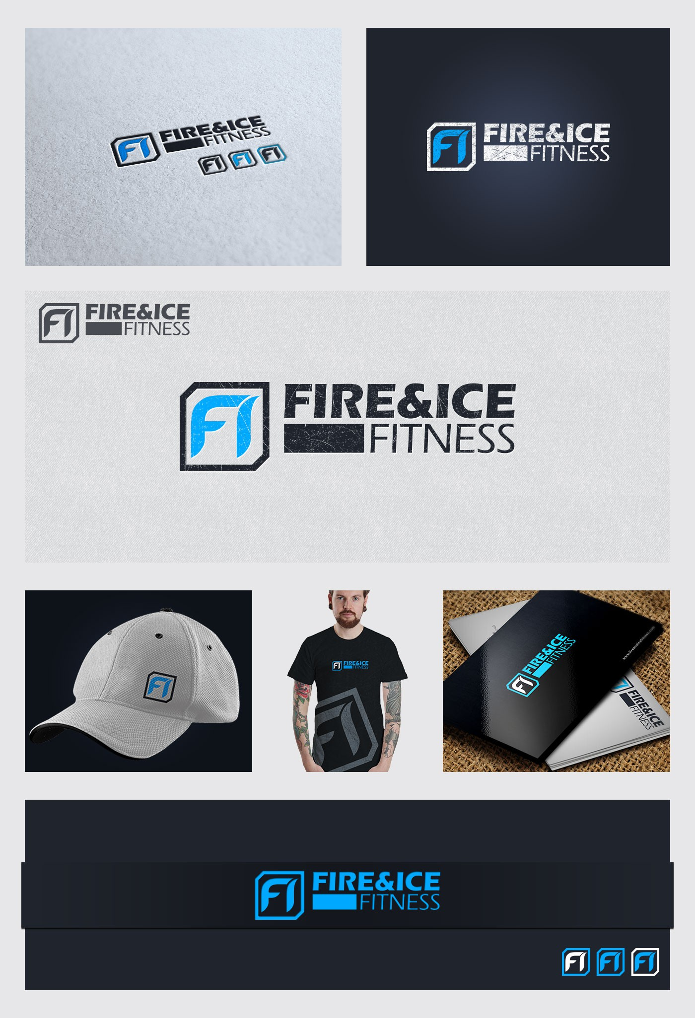 Fire And Ice Fitness Needs Brand Identity.. Lets see what you got.