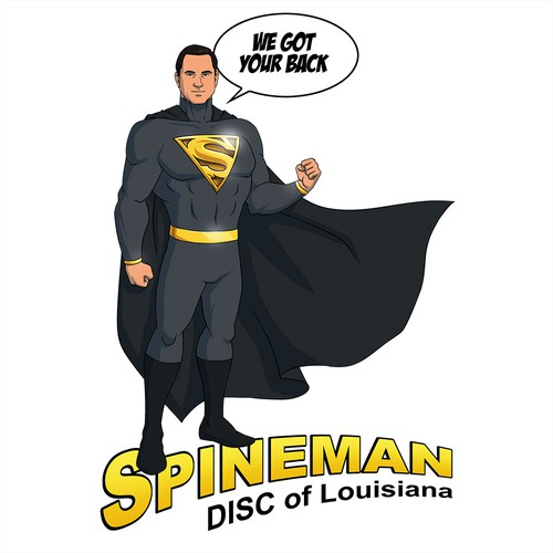 Spineman Logo/Mascot