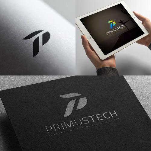 Bold Logo Concept for PrimusTech.com.sg