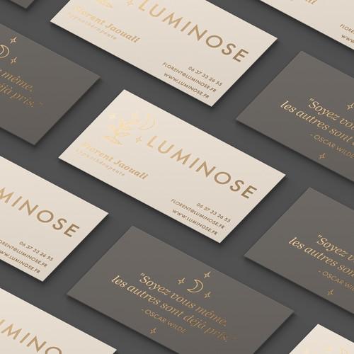 Logo & Business Card Design for Luminose