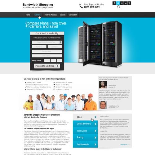 BandwidthShopping.com/ needs a new website design