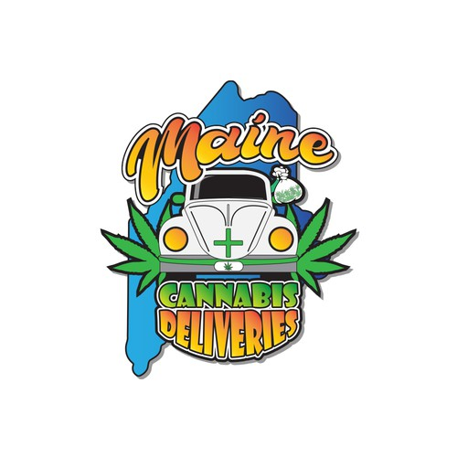 Logo design for Maine Cannabis Deliveries