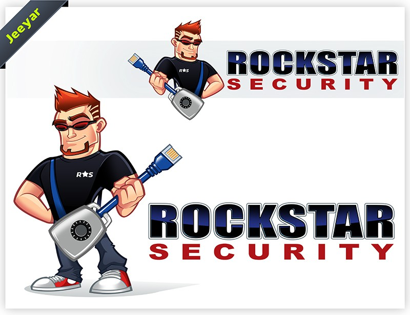 Help Rockstar Security with a new logo