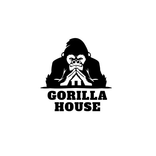 Gorilla mascot/logo for a software company
