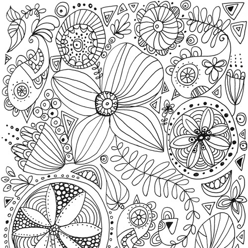 Coloring book design