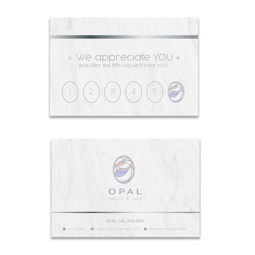 Winning design Opal Salon & Spa
