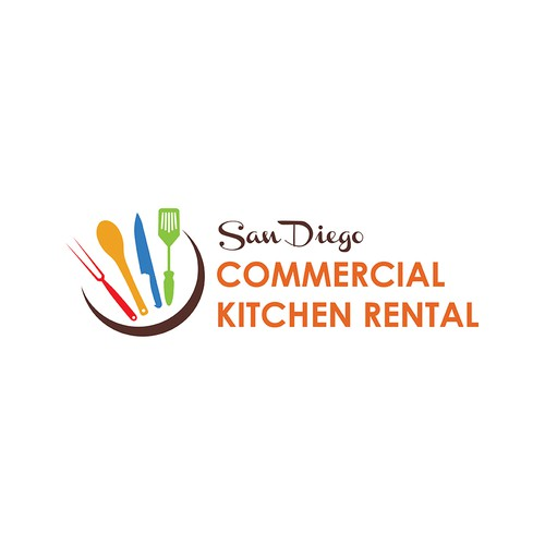 Logo concept for Kitchen Rental