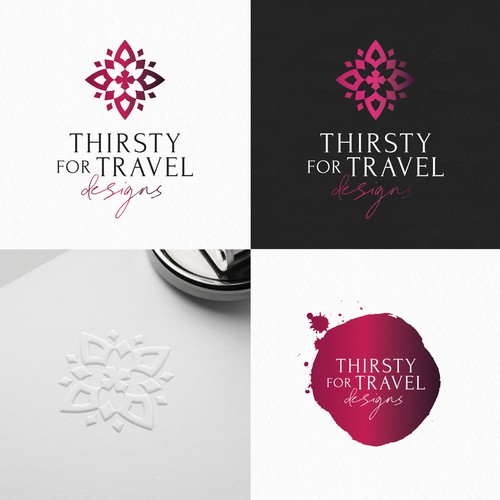 Thirsty for travel designs