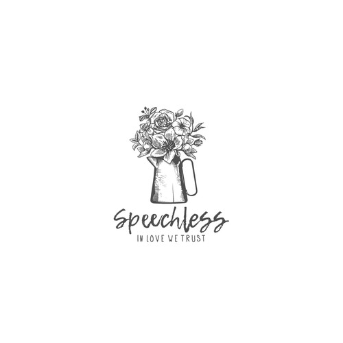 A unique logo of Speechless