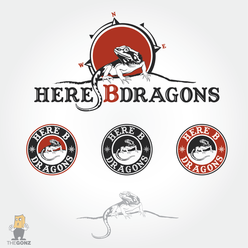 Winning entry for Here B Dragons