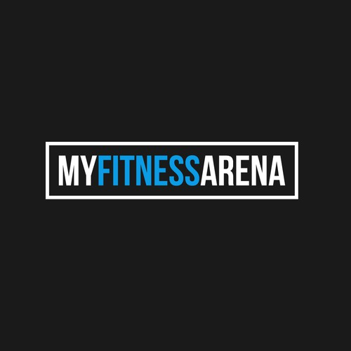 Logo design for My Fitness Arena - A sports comparison website