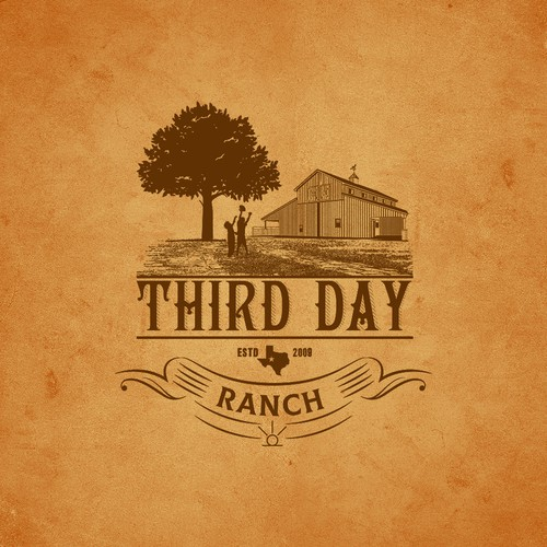 Capture essence of Texas ranch experience in new Third Day Ranch logo