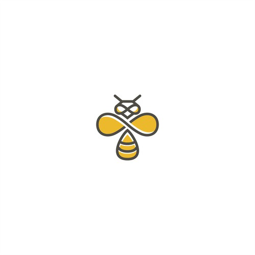 Smart bee logo