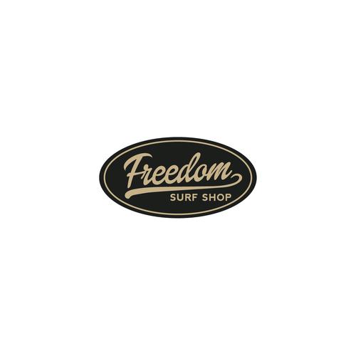 Freedom surf shop logo