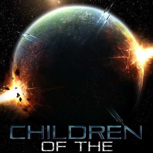 """Children of the Void"" Sci- Fi book cover design contest!"