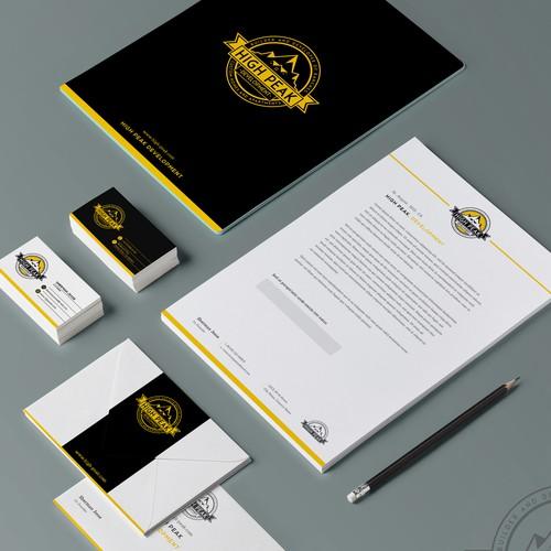 Corporate & Logo design concept for HighPeak Development