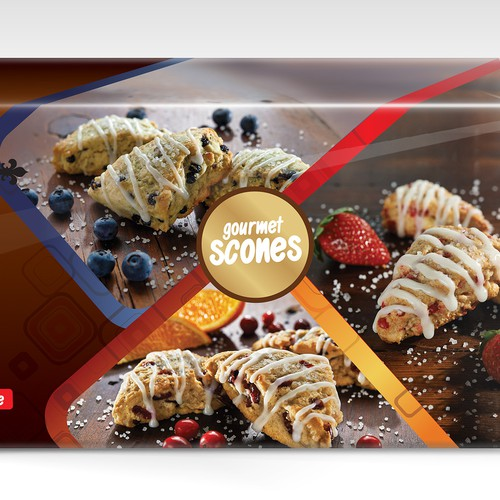 Barista Gourmet Scones Packaging