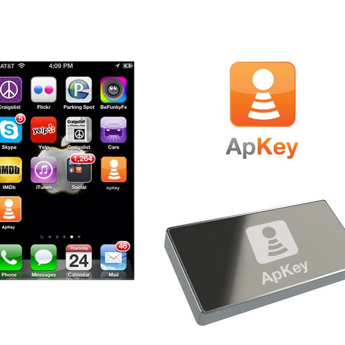 ApKey logo conception