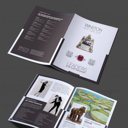 Winston Art Group powerful new brochure