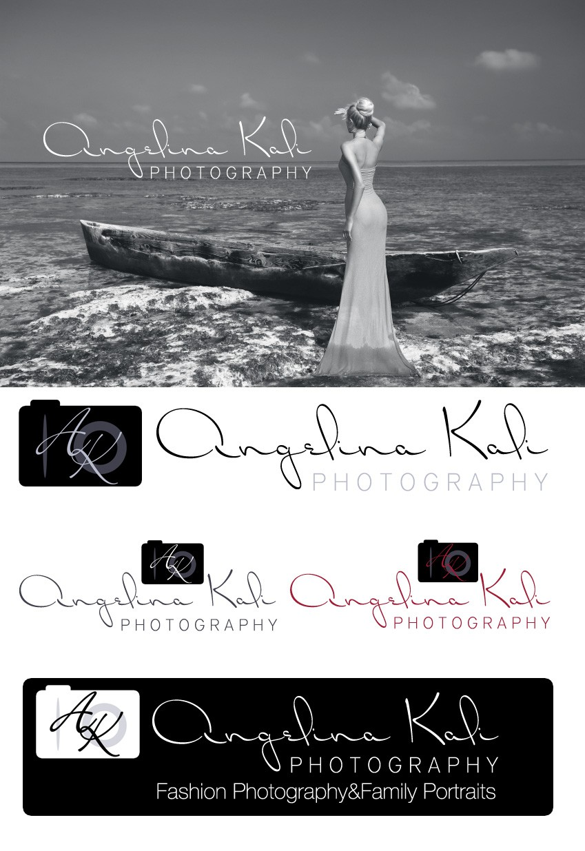 New logo wanted for AngelinaKaliPhotography