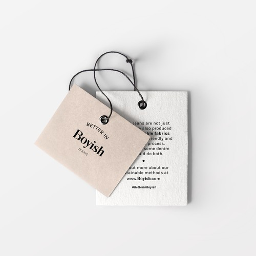 Modern Clothing Tag