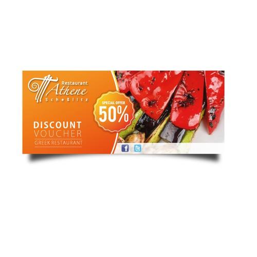 Restaurant Discount Banner