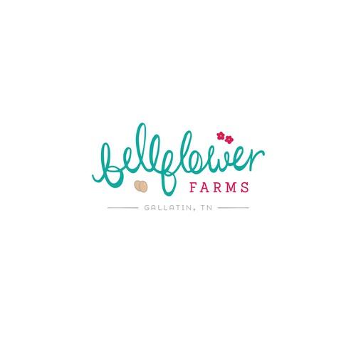 Custom created wording for 'Bellflower Farms'