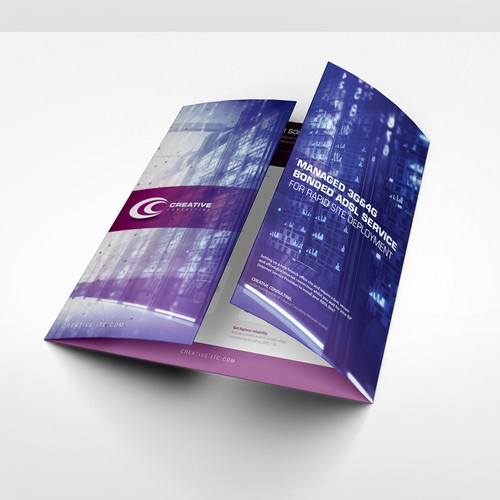 Brochure design for fast growing IT company