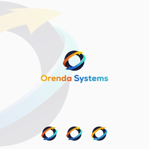 Logo design for software-based logistic company