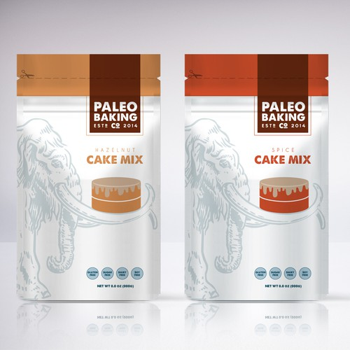 Cake Mix Packaging