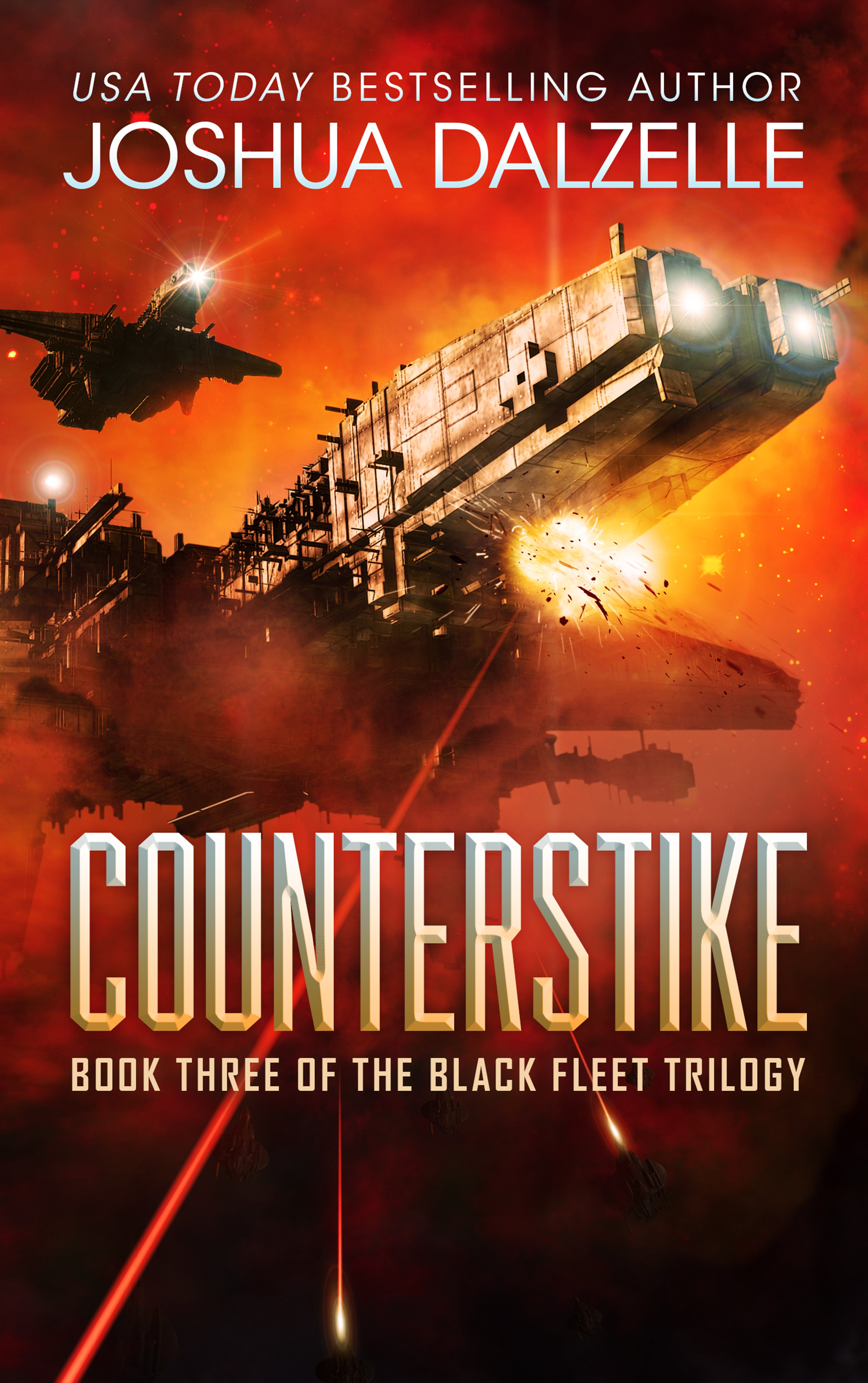 New cover for Black Fleet Trilogy, book 3