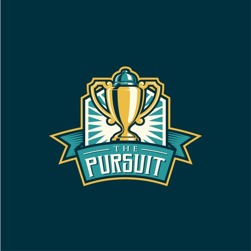 Logo for an annual competition The Pursuit