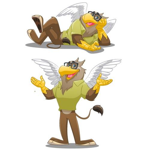 Griffen Apotheke mascot