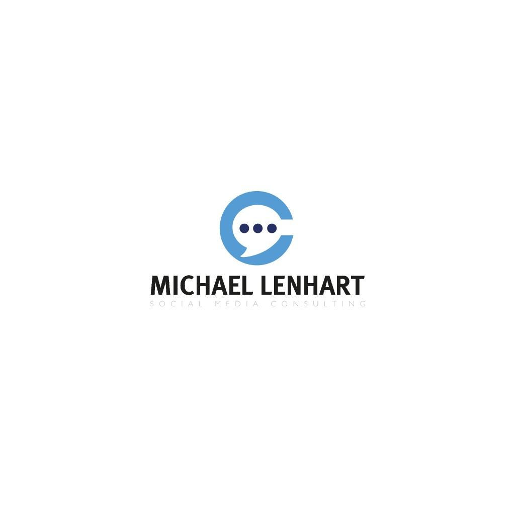 Michael Lenhart braucht ein aussagekräftiges Logo für seine neue Social Media-Agency.