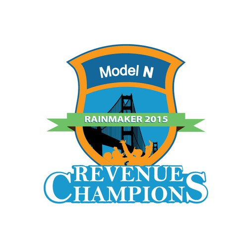 "Create ""Rainmaker 2015 Revenue Champions"" event logo for Model N, a Revenue Management Company"