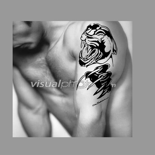Create a winning art or illustration for panther tattoo