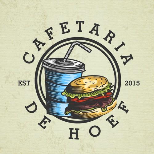 Cafetaria De Hoef Logo