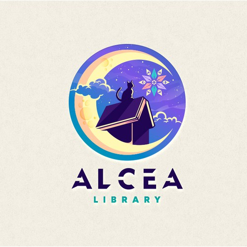 Alcea Library Logo