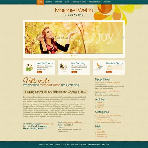 Margaret Webb Life Coaching needs a new website design