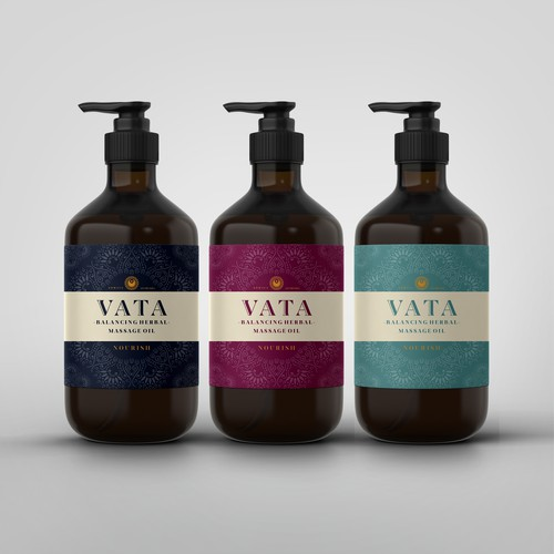 Minimalist, Luxury VATA packaging design