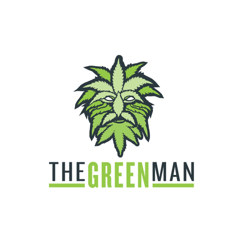 Create a funky logo for a Master Grower of Medical Marijuana - The Green Man