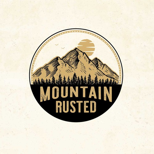 Mountain Rusted