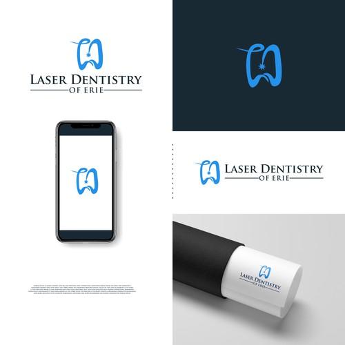 LD laser dental logo