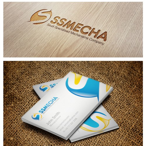 logo for SSMECHA (Saudi Specialised Mechanisms Company)